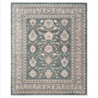 Safavieh Valencia Double Border 8-Foot x 10-Foot Area Rug in Green/Purple