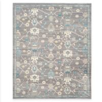 Safavieh Valencia Global Geo 9-Foot x 12-Foot Area Rug in Mauve