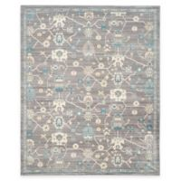 Safavieh Valencia Global Geo 8-Foot x 10-Foot Area Rug in Mauve