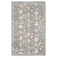 Safavieh Valencia Global Geo 4-Foot x 6-Foot Area Rug in Mauve