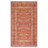 Safavieh Valencia Ogee 3-Foot x 5-Foot Area Rug in Red