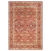 Safavieh Valencia Ogee 4-Foot x 6-Foot Area Rug in Red