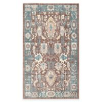 Safavieh Valencia Anja 2-Foot x 3-Foot Accent Rug in Chocolate/Alpine