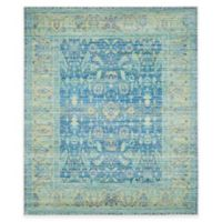 Safavieh Valencia Bronn 9-Foot x 12-Foot Area Rug in Blue/Multi