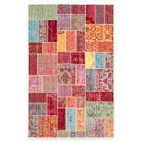 Safavieh Valencia Multicolor Patchwork 4-Foot x 6-Foot Area Rug