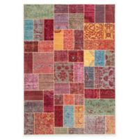 Safavieh Valencia Multicolor Patchwork 5-Foot x 8-Foot Area Rug