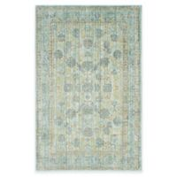 Safavieh Valencia Theo 4-Foot x 6-Foot Area Rug in Light Blue/Turquoise