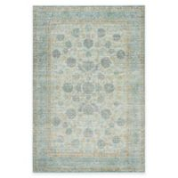 Safavieh Valencia Theo 5-Foot x 8-Foot Area Rug in Light Blue/Turquoise