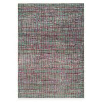 Safavieh Valencia Cracked 4-Foot x 6-Foot Area Rug in Green/Red