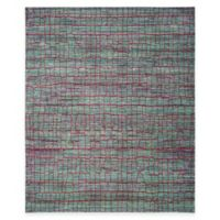 Safavieh Valencia Cracked 9-Foot x 12-Foot Area Rug in Green/Red