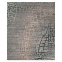 Safavieh Valencia Snake 9-Foot x 12-Foot Area Rug in Grey/Multi