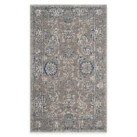 Safavieh Artisan Floral 3-Foot x 5-Foot Area Rug in Grey/Blue