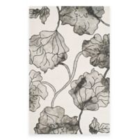 Safavieh Dip Dye Floral 8-Foot x 10-Foot Area Rug in Ivory/Grey