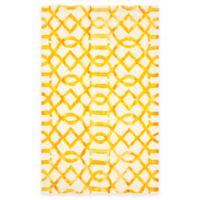Safavieh Dip Dye Entwine 5-Foot x 8-Foot Area Rug in Ivory/Gold