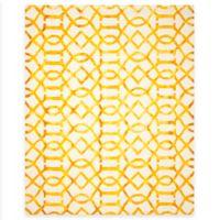 Safavieh Dip Dye Entwine 9-Foot x 12-Foot Area Rug in Ivory/Gold