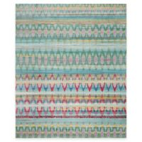 Safavieh Valencia Elros 9-Foot x 12-Foot Area Rug in Blue Multi