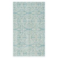 Safavieh Valencia Medallion 3-Foot x 5-Foot Area Rug in Green/Ivory
