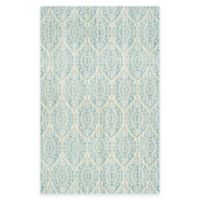 Safavieh Valencia Damask 3-Foot x 5-Foot Area Rug in Alpine/Cream