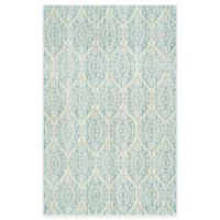 Safavieh Valencia Damask 4-Foot x 6-Foot Area Rug in Alpine/Cream
