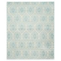 Safavieh Valencia Damask 9-Foot x 12-Foot Area Rug in Alpine/Cream