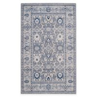 Safavieh Artisan Gazsi 4-Foot x 6-Foot Area Rug in Grey/Silver