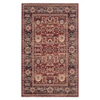 Safavieh Artisan Gazsi 4-Foot x 6-Foot Area Rug in Rust/Navy