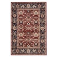 Safavieh Artisan Gazsi 6-Foot 7-Inch x 9-Foot Area Rug in Rust/Navy