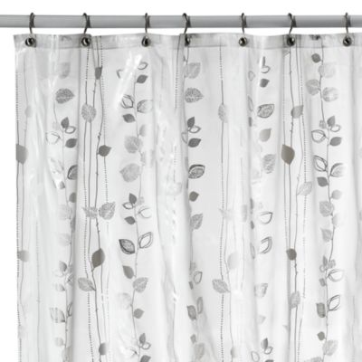 Curtains Ideas bed bath and beyond bathroom curtains : Buy Silver Shower Curtain from Bed Bath & Beyond