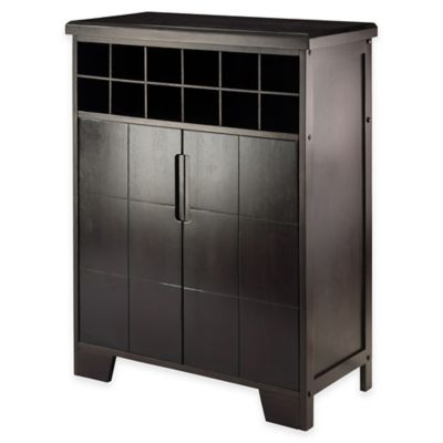Buy Espresso Storage Cabinet From Bed Bath Beyond