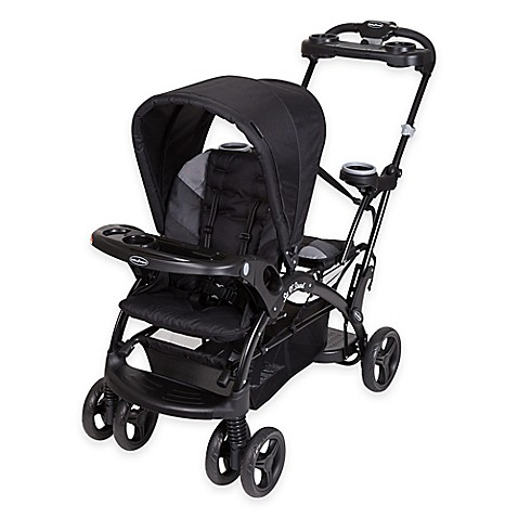 Baby Trend Sit N Stand 174 Elite Stroller In Storm Bed