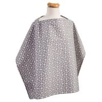 Trend Lab® Greek Key Nursing Cover in Grey