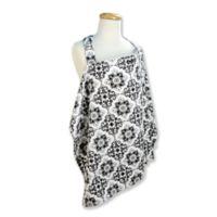 Trend Lab® Versailles Nursing Cover in Black/White