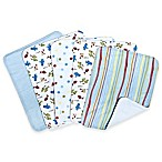 Trend Lab® 5-Pack Dr. Seuss™  One Fish Two Fish  Burp Cloth Set
