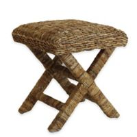 Baum-Essex Cavendish Woven Wicker Spa Stool