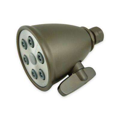 kingston heritage brass adjustable 6jet spray showerhead in oilrubbed bronze