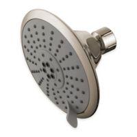 5-Function Water-Saving Adjustable Showerhead in Satin Nickel