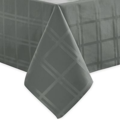 Origins™ Microfiber 52 Inch X 52  Inch Square Tablecloth In Charcoal