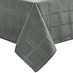 Origins™ Microfiber 60-Inch x 102-Inch Oval Tablecloth in Charcoal