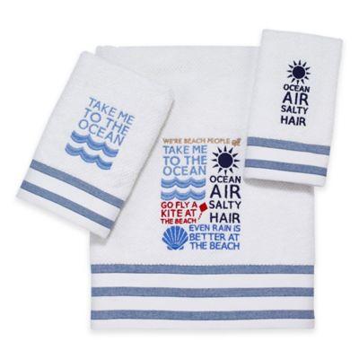 Merveilleux Avanti Beach Words Bath Towel