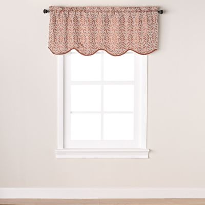 Buy Window Curtain Valance In Spice From Bed Bath Amp Beyond