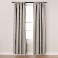 Westchester 84-Inch Room-Darkening Rod Pocket/Back Tab Window Curtain Panel in Spa