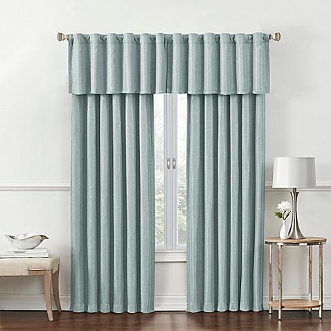 Rockwell Room Darkening Window Curtain Panel And Valance
