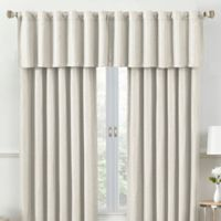 Rockwell Tailored Window Valance in Ivory