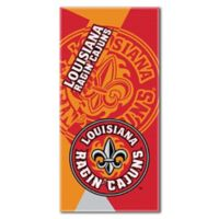 University of Louisiana-Lafayette Beach Towel