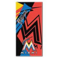 MLB Miami Marlins Beach Towel