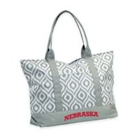 University of Nebraska Ikat Tote