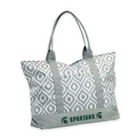 Michigan State University Ikat Tote