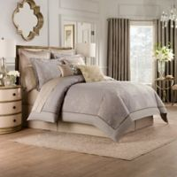 Valeron Elandra Queen Comforter Set in Grey