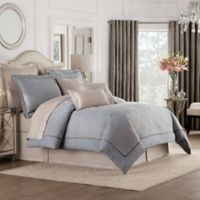 Valeron Gizmon Queen Comforter Set in Taupe/Grey