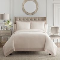 Valeron Blaise Queen Coverlet Set in Taupe